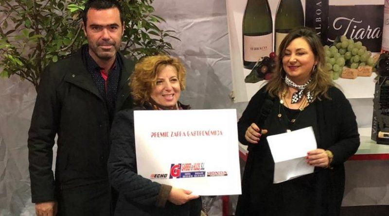 Garber e Hijos donó el I Premio del Concurso de Cocina Amateur de la Asociación de mujeres progresistas en Zafra Gastronómica